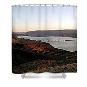 Wild Horse Lookout - Washington Shower Curtain