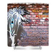 Wild Horses For Sale Shower Curtain