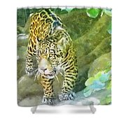Wild In Spirit Shower Curtain