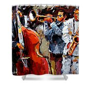 Wild Jazz Shower Curtain