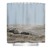 Wild Lake Shower Curtain