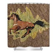 Wild Mustang #4 Shower Curtain