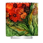 Wild Poppies - Organica Shower Curtain