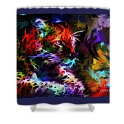 Wild Puma Colors Shower Curtain