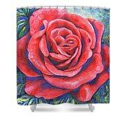Wild Rose Three Shower Curtain