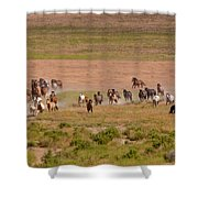Wild Run Shower Curtain