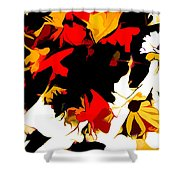 Wild Side Of A Flower Shower Curtain