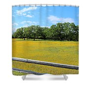 Wild Side Of The Fence Shower Curtain