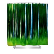 Wild Stripes Shower Curtain