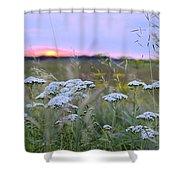 Wild Sunrise Shower Curtain