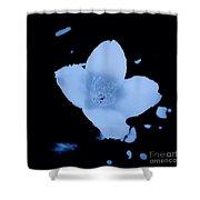 Wild Vine Flower Shower Curtain