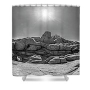 Wild West Rocks Shower Curtain