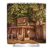Wild West Sheriff Office Shower Curtain