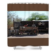 Wild West Still Life Shower Curtain