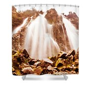 Wild West Water Fall Shower Curtain