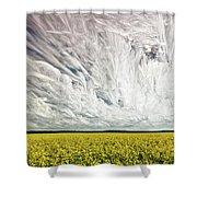 Wild Winds Shower Curtain
