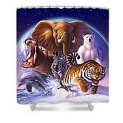 Wild World Shower Curtain