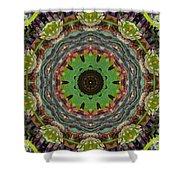 Wilder Flower Mandala Shower Curtain