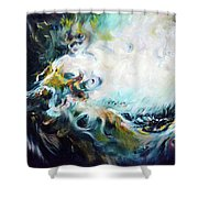 Wilderness - Abstract Shower Curtain