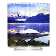 Wilderness Inter Peace Shower Curtain