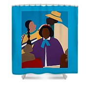 Wildfire A Tribute To Edmonia Lewis Shower Curtain