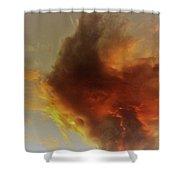 Wildfire Sunset Shower Curtain