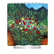 Wildflower Garden 1 Shower Curtain