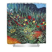 Wildflower Garden 2 Shower Curtain