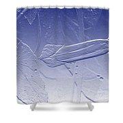 Wildflower In Blue Shower Curtain