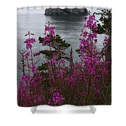 Wildflower Lookout Shower Curtain