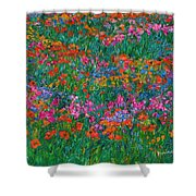 Wildflower Magic Shower Curtain