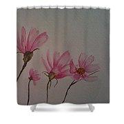 Wildflower Pink Shower Curtain