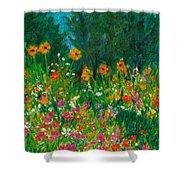 Wildflower Rush Shower Curtain