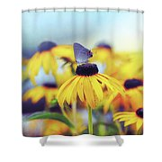Wildflower Visitor Shower Curtain