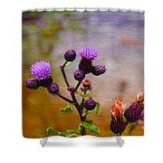 Wildflower Watercolour Shower Curtain