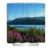 Wildflowers On The Edge Shower Curtain