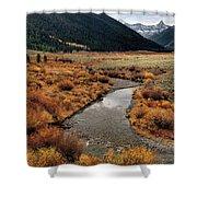 Wildhorse Creek Shower Curtain