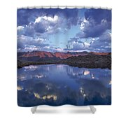 Wildhorse Lake Shower Curtain