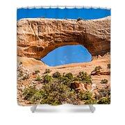 Wildon Arch In Utah Shower Curtain