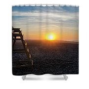 Wildwood New Jersey - Peaceful Morning Shower Curtain
