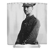 Wilfred Owen (1893-1918) Shower Curtain