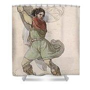 Wilhelm Tell Shower Curtain