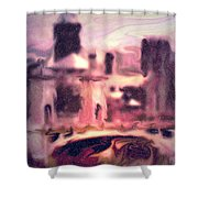 Wilkes Barre Pennsylvania Shower Curtain