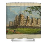 Wilkinson, Robert  58 Cornhill Windsor Castle Published 7 Aug 1813 Shower Curtain