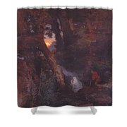 Will O The Wisp 1862 Shower Curtain