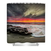 Will Of The Wind Shower Curtain