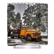 Will Plow For Snow Shower Curtain