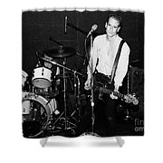 Will Shatter Of Flipper 1980s Punk Rock Band Shower Curtain