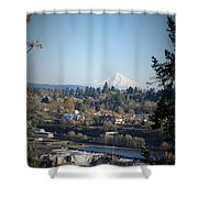 Willamette Falls 2 Shower Curtain