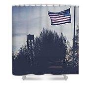 Willamette National Cemetery Shower Curtain